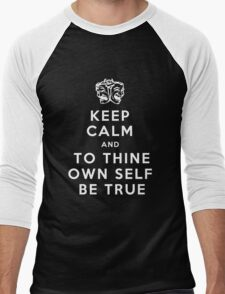 To thine own self Men's Baseball ¾ T-Shirt