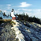 Pemaquid Point Lighthouse, Maine by wolftinz