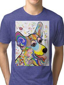 CORGI CUTIE! Tri-blend T-Shirt