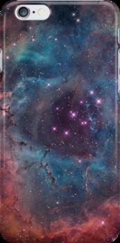 Nebula I iPhone Cover by Jamie Syke