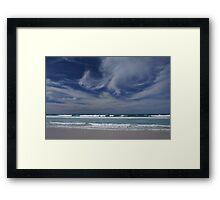 Sun, Sand, Surf and Sky Framed Print