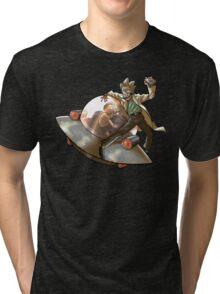 Rick 'n' Morty (transparent) Tri-blend T-Shirt
