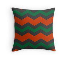 Chevron Christmas Cushion 9 Throw Pillow