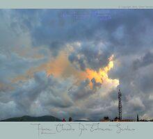 ©HCS Cool Fresh Blue Clouds I by OmarHernandez