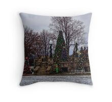 Punxsutawney, home of the groundhog! Throw Pillow