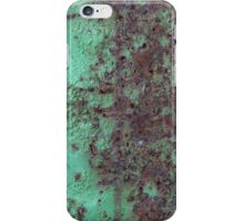 Rust With Turquoise iPhone Case/Skin