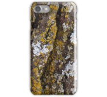 Tree Bark With Lichens iPhone Case/Skin