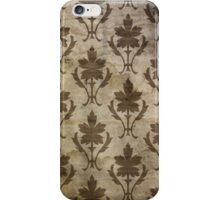 Vintage Brown Wallpaper iPhone Case/Skin