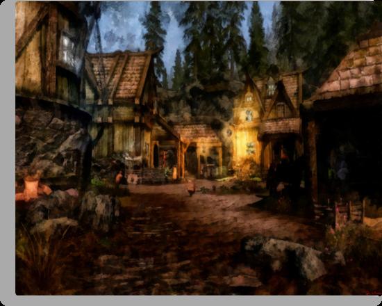 Quiet Little Village by Joe Misrasi