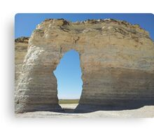 Kansas Chalk Pyramids Canvas Print