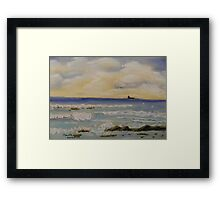 Small Waves Framed Print