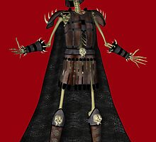 Warrior Skeleton by pjwuebker