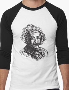 Icon: Einstein Men's Baseball ¾ T-Shirt