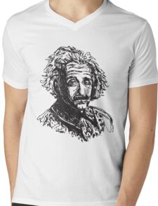 Icon: Einstein Mens V-Neck T-Shirt