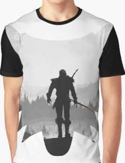 White wolf Graphic T-Shirt