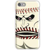 Angry Baseball Ball Face iPad Case / iPhone 5 Case / iPhone 4 Case / Samsung Galaxy Cases  iPhone Case/Skin