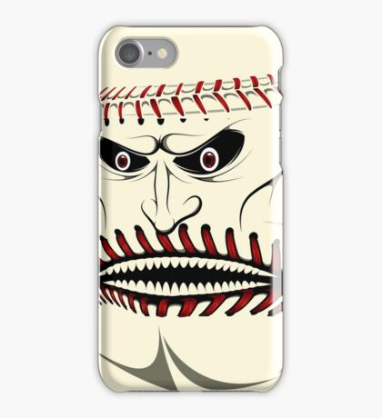 Angry Baseball Ball Face iPad Case / iPhone 5 Case / iPhone 4 Case / Samsung Galaxy Cases  iPhone Case/Skin