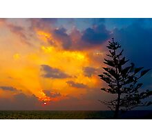Sunset in the West Photographic Print