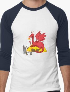 Chillin with Smaug Men's Baseball ¾ T-Shirt
