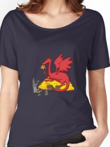 Chillin with Smaug Women's Relaxed Fit T-Shirt