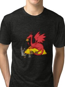 Chillin with Smaug Tri-blend T-Shirt