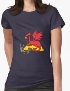 Chillin with Smaug Womens Fitted T-Shirt