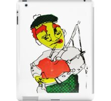 Satire of a Scotsman Puppet  Screen Print  iPad Case/Skin