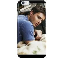 Jensen Blue Tee and Bed iPhone Case/Skin
