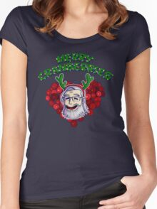 Merry Cranberries Women's Fitted Scoop T-Shirt