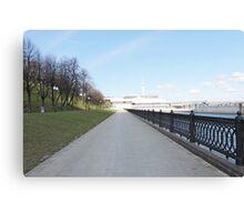 Lower quay  Canvas Print