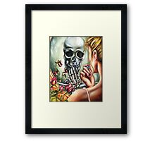 Here today, Gone tomorrow Framed Print