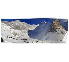 Highwood valley (panorama) Poster
