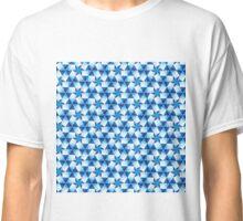Geometric Blues Classic T-Shirt