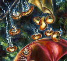 Jellyfishy Evening by Hiroko Sakai