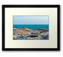 Over the Sand Dune Framed Print