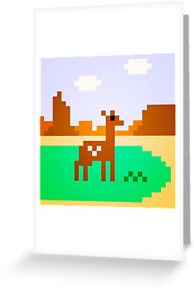 Deer in Meadow by Justin Mair