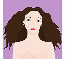 Naked girl Photographic Print