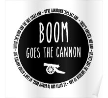 Boom Goes the Cannon Poster