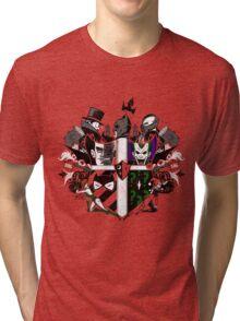 Criminal Coat of Arms Tri-blend T-Shirt