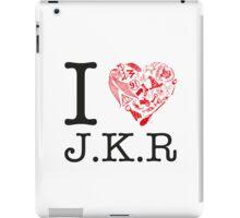 I <3 JKR iPad Case/Skin