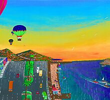 Balloons Over Vera Cruz by Socrates & Angela Hernandez