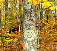 Happy Tree by MelMon8