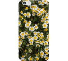 White and Yellow iPhone Case/Skin