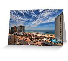 Tel Aviv summer time Greeting Card