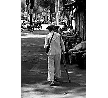 Saigon man Photographic Print