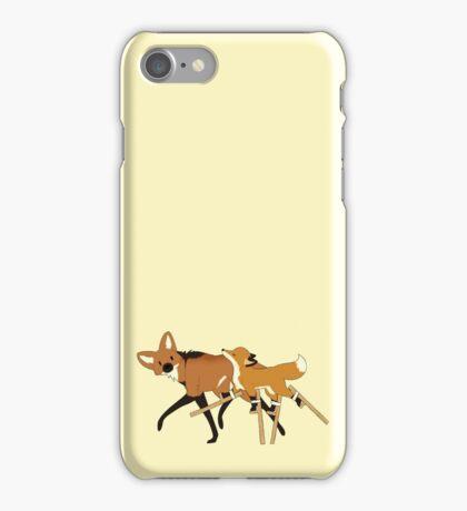 Stilts Fox iPhone Case/Skin