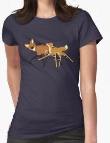 Stilts Fox Womens Fitted T-Shirt