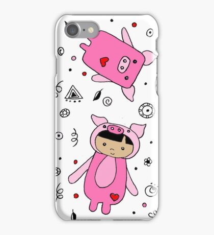 For the love of Pigs iPhone Case/Skin
