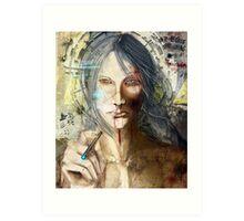 LILIUM: God Is Dead Art Print