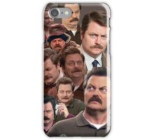 Ron Swanson Tile iPhone Case/Skin